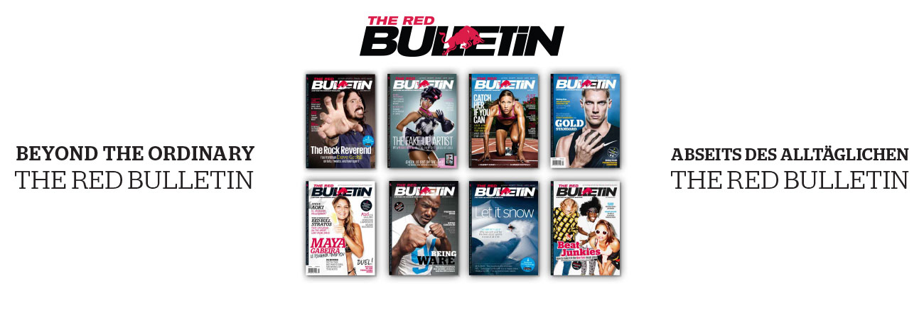 Red Bulletin campaign